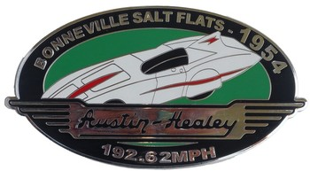 Austin Healey Bonneville Grille Badge