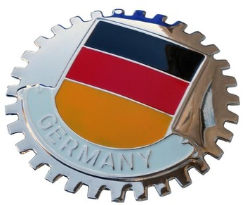 GERMAN FLAG GRILLE BADGE (BGE_STGF)