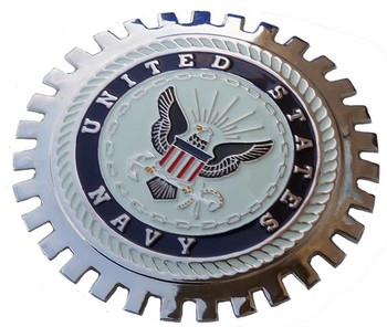 GRILLE BADGE - US NAVY (BGE_STNA)