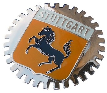 STUTTGART CAR GRILLE BADGE (BGE_STST)