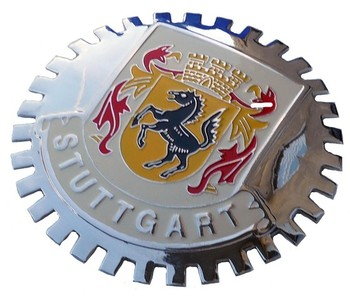 GRILLE BADGE - STUTTGART 2ND (BGE_STST2)