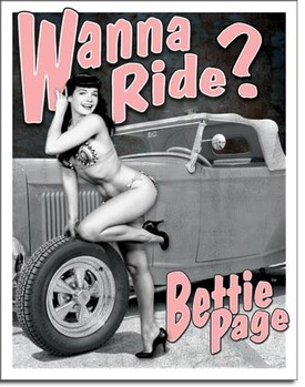 SIGN - BETTE PAGE - WANNA RIDE (D1791)