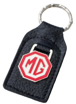 MG RED/WHITE KEY FOB (FOB_MG_RED/WH)