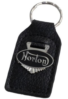 NORTON LEATHER KEY FOB (FOB_NORTON)