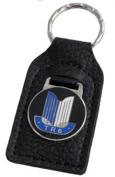 Triumph Tr6 Shield Key Fob