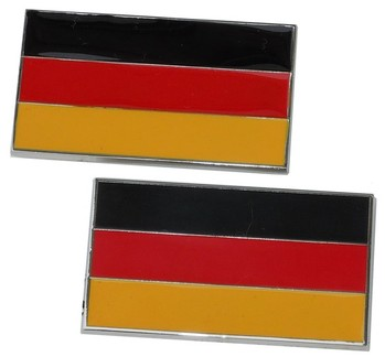 German Metal Flags