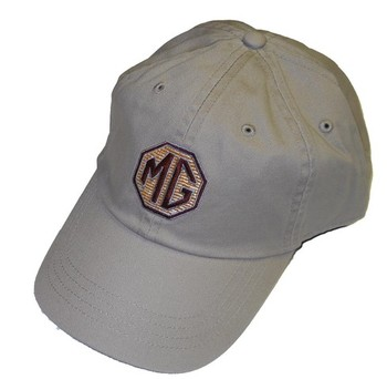 HAT - EMBROIDERED MG LOGO - BEIGE (HAT-MG/BEIGE)