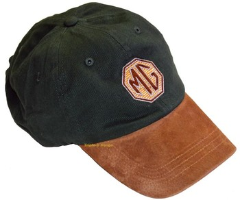 HAT - EMBROIDERED MG LOGO - GREEN (HAT-MG/GREEN)