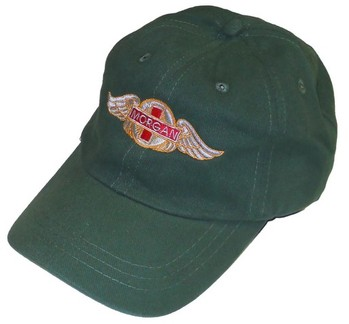 HAT - EMBROIDERED MORGAN WINGS (HAT-MGN/WINGS)
