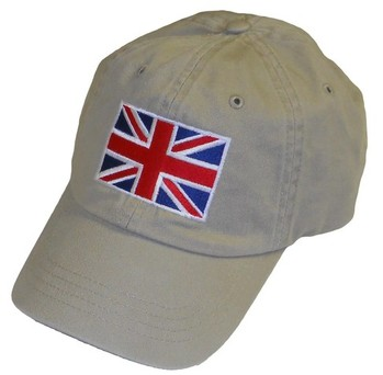 HAT - UNION JACK EMBROIDERED (HAT-UJ)