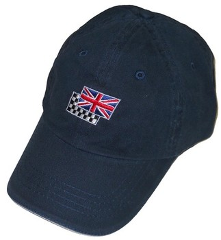 UNION JACK/CHEQURED FLAGS HAT (HAT-UJ/CHEQ)