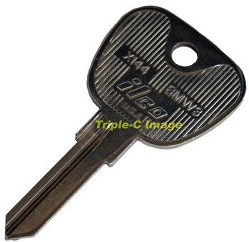 BMW3 REPLACEMENT IGNITION KEY BLANK (KB-BMW3)