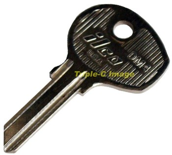 PORSCHE DM4 BLANK KEY (KB-DM4)