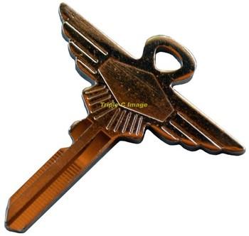 WINGED FA KEY CUT TO CODE (KEY-JAG/FA)