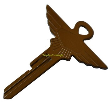 BLANK FP WINGED KEY (KB-JAG/FP)
