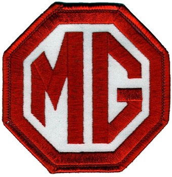 "PATCH - MG RED/WHITE 3"" WIDE (PATCH#06)"