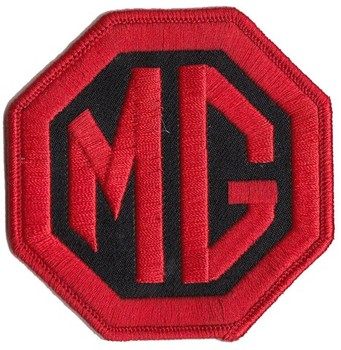 "PATCH - MG BLACK/RED 3"" WIDE (PATCH#07)"
