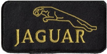 PATCH - JAG. LEAPER (BLACK) (PATCH#30)