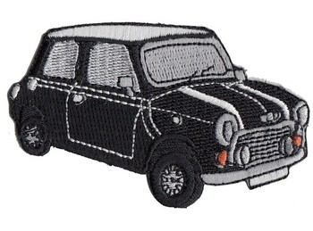 PATCH - MINI CUT-OUT BLACK CAR (PATCH#38)
