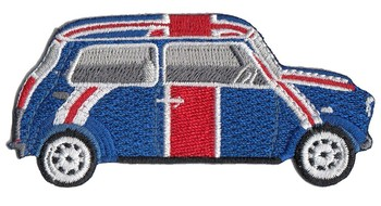 MINI CAR - UNION JACK (PATCH#39)