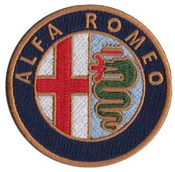 ALFA ROMEO EMBROIDERED PATCH (PATCH#42)