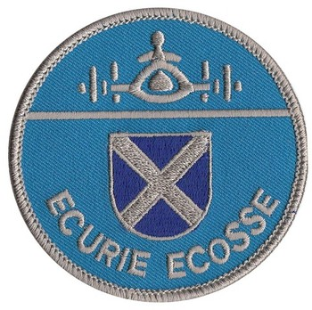 ECURIE ECOSSE EMBROIDERED PATCH (PATCH#44)