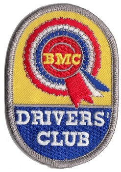 PATCH - BMC DRIVERS CLUB (PATCH#45)