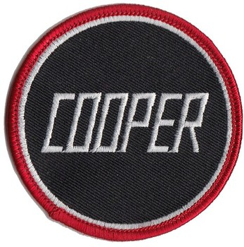 PATCH - COOPER BLACK (PATCH#55)