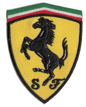 FERRARI SEW ON PATCH (PATCH#76)