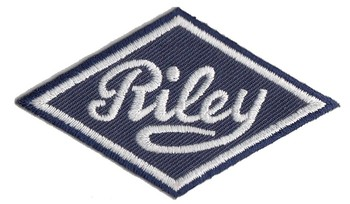 RILEY EMBROIDERED PATCH (PATCH#79)