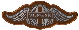 Large Morgan Embroidered Patch