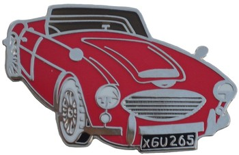 AUSTIN-HEALEY 3000 CUT OUT LAPEL PIN (P-AH/3000)