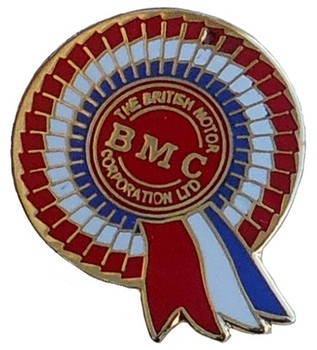 BMC ROSETTE LAPEL PIN (P-BMC)