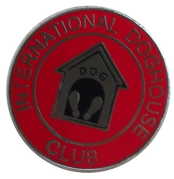INTERNATIONAL DOG HOUSE CLUB - LAPEL PIN (P-IDHC)