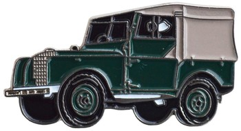 LAND ROVER SERIES 1 CAR CUT OUT LAPEL PIN (P-LR/SER1)