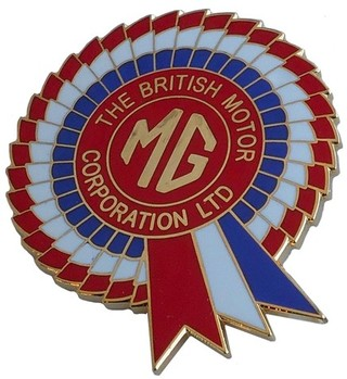 MG/BMC ROSETTE LAPEL PIN (P-MG/BMC)