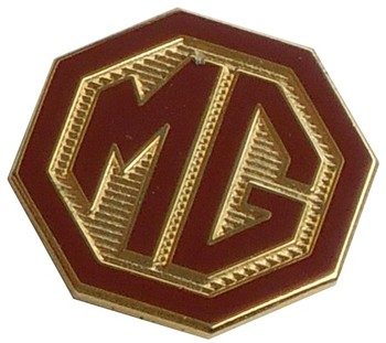 MG OCTAGON LAPEL PIN (P-MG)