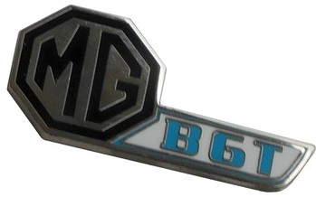 MG MGB-GT HATCH LOGO LAPEL PIN (P-MGBGTLOGO)