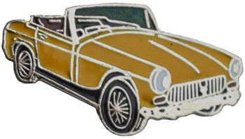 MG CHROME BUMPER MIDGET LAPEL PIN (P-MID<76)