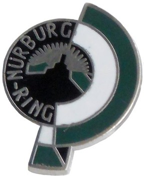 NURBURGRING LAPEL PIN (P-NURBURG)