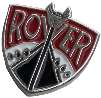 ROVER CREST LAPEL PIN (P-ROVER)