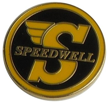 SPEEDWELL LAPEL PIN (P-SPEEDWELL)