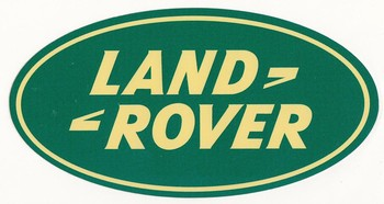DECAL - LAND ROVER 6 X 3.5 (STK-04B)