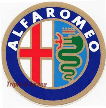 Decal -Alfa Romeo