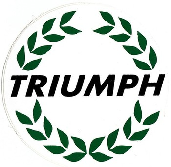 DECAL - TRIUMPH LAUREL (STK-64)