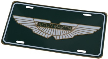 ASTON MARTIN LICENSE PLATE (TAG_AST.MARTIN)