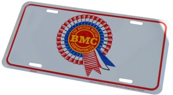 BMC ROSETTE LICENSE PLATE - TAG (TAG_BMC)