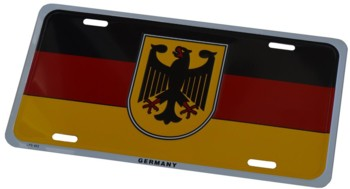GERMAN LICENSE PLATE (TAG_GERMANY)