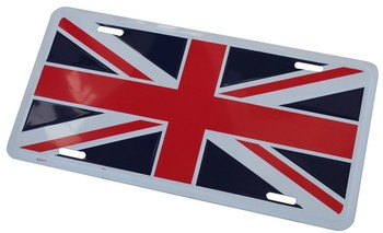 UNION JACK LICENSE PLATE - TAG (TAG_UJ)