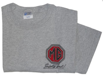 MG SAFETY FAST (RED) T-SHIRT (T-MG/SF_RED)